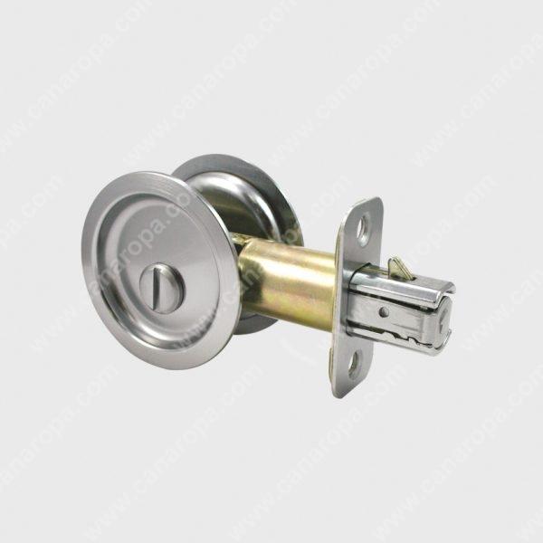 2642 Round Pocket Door Lock